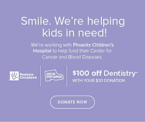 San Tan Valley Kids'  Dentistry & Orthodontics- We're working withPhoenix Children's Hospital to help fund their Center for Cancer and Blood Disease
